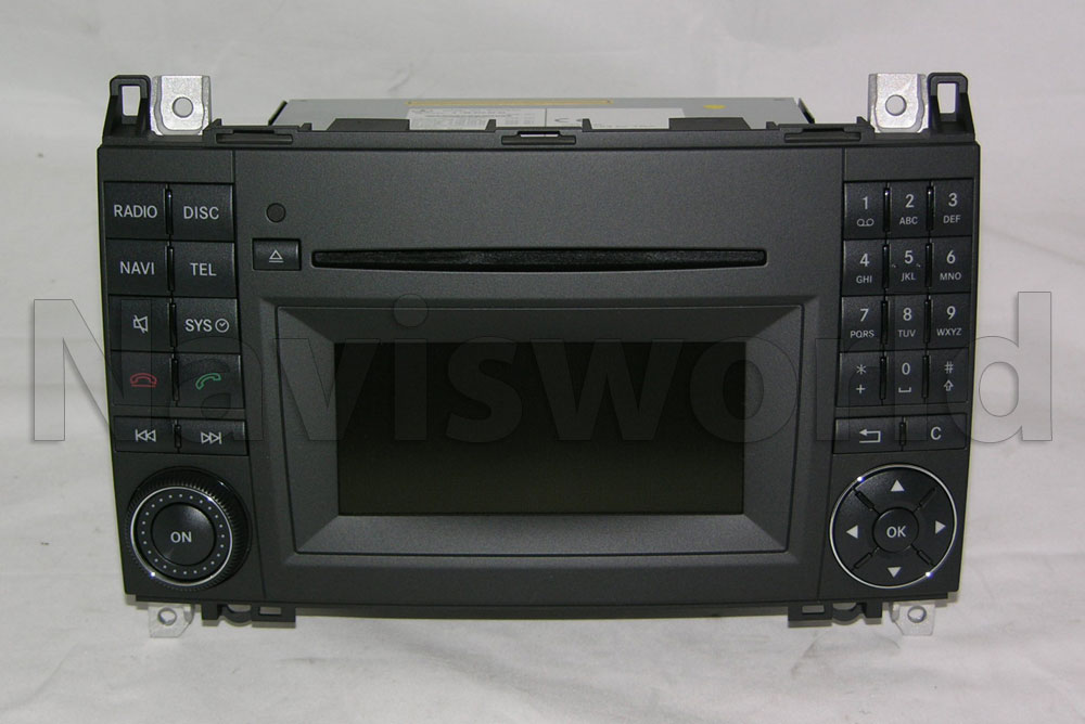 mercedes navigationssystem aps50 audio 50 aps a klasse w169 w245 ntg2 5 ebay. Black Bedroom Furniture Sets. Home Design Ideas