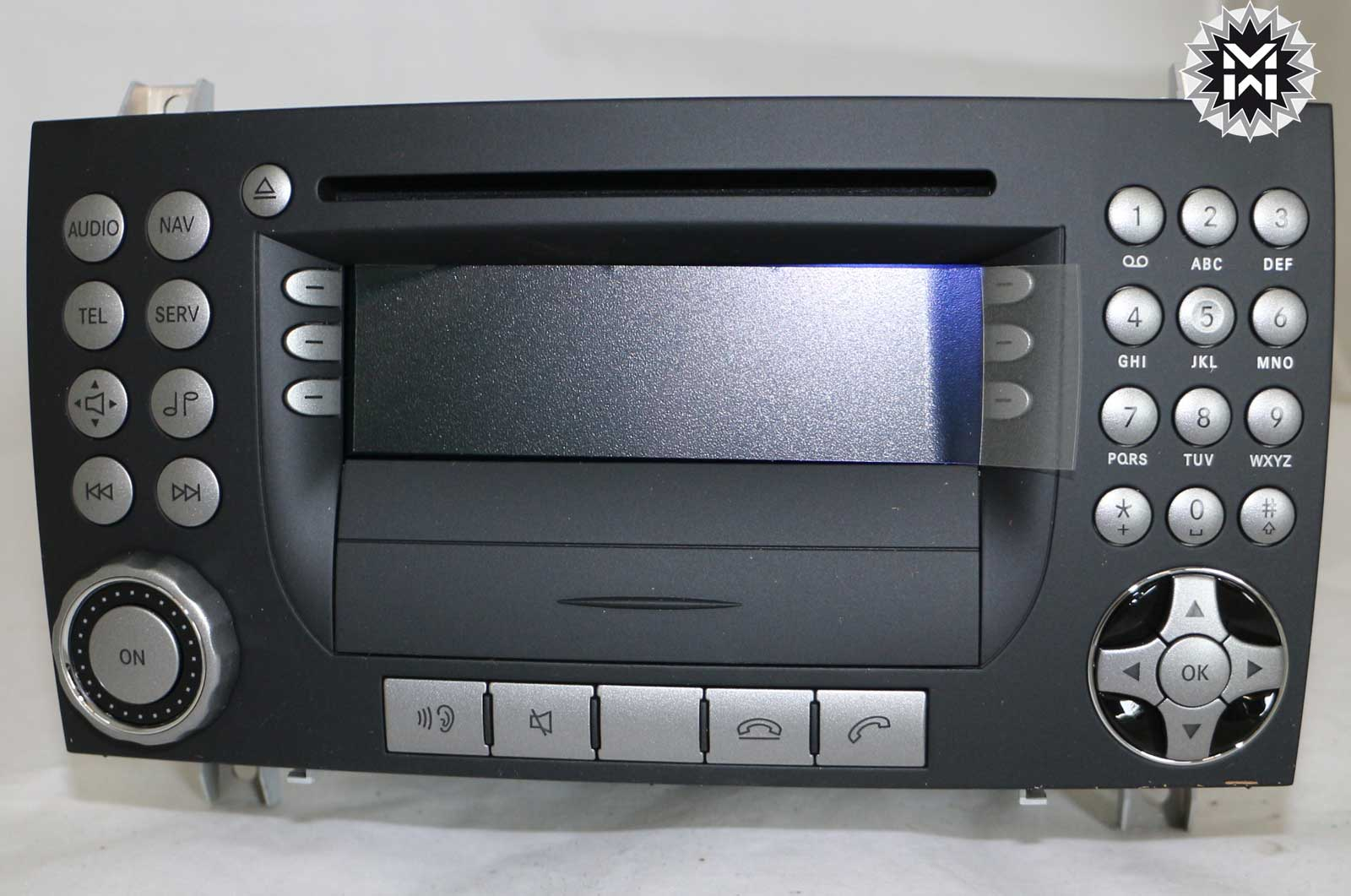 mercedes aps 50 ntg1 slk r171 a1718208189 navi cd radio. Black Bedroom Furniture Sets. Home Design Ideas