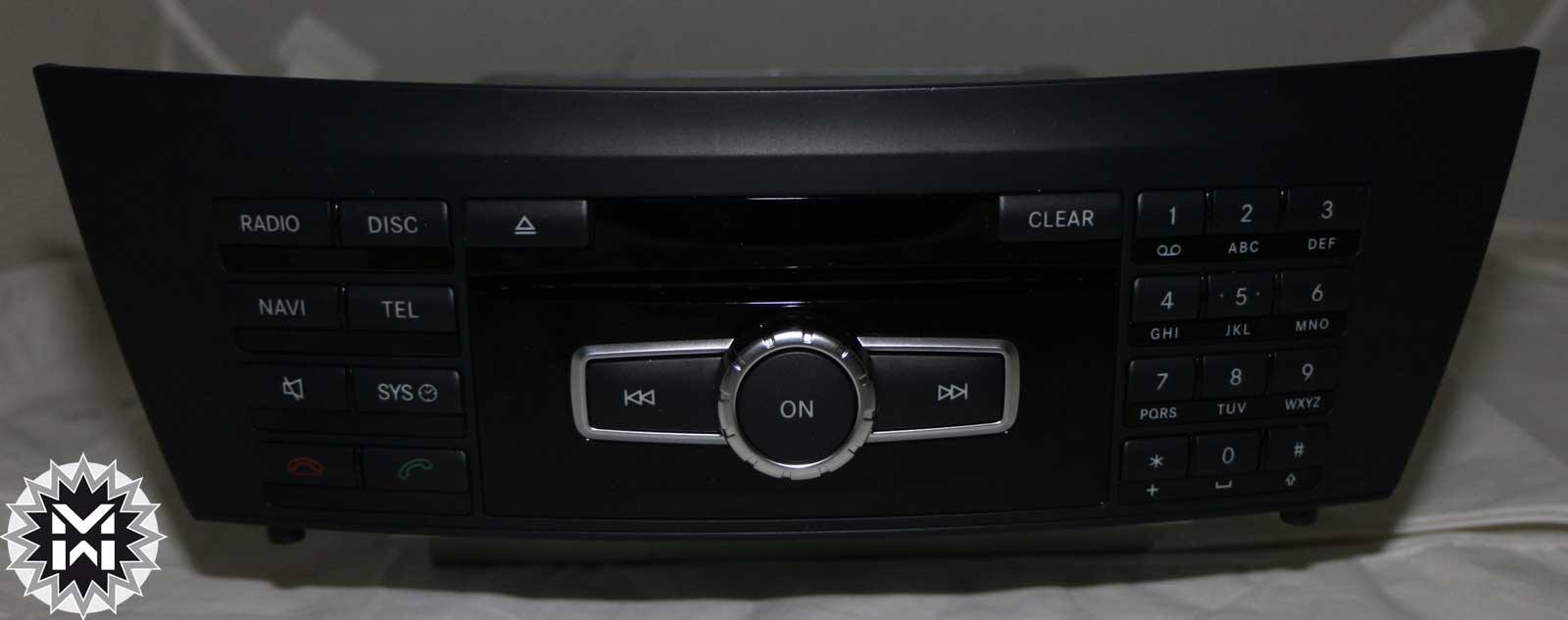 mercedes autoradio radio audio 20 cd c klasse w204. Black Bedroom Furniture Sets. Home Design Ideas