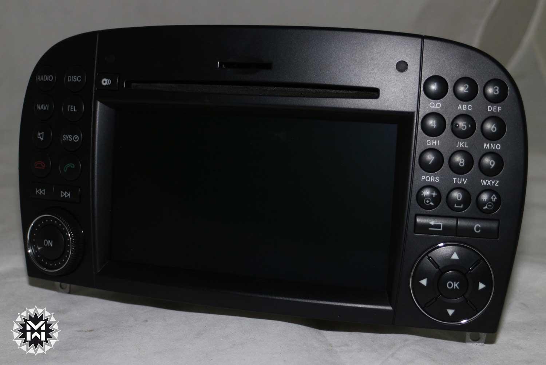 mercedes comand ntg 2 5 dvd navi navigation sl r230. Black Bedroom Furniture Sets. Home Design Ideas