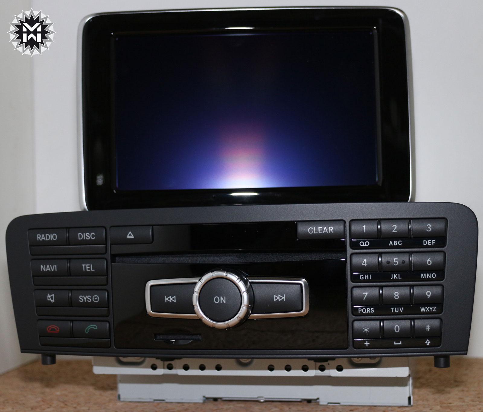 mercedes benz comand ntg 4 7 online dvd navigation a klasse w176 a2469005712 ebay. Black Bedroom Furniture Sets. Home Design Ideas