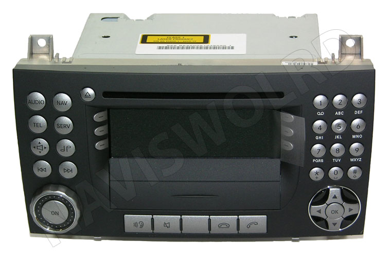 mercedes gps navigation aps 50 slk r171 neu ebay. Black Bedroom Furniture Sets. Home Design Ideas