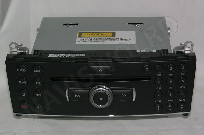 audio 50 aps mercedes w204