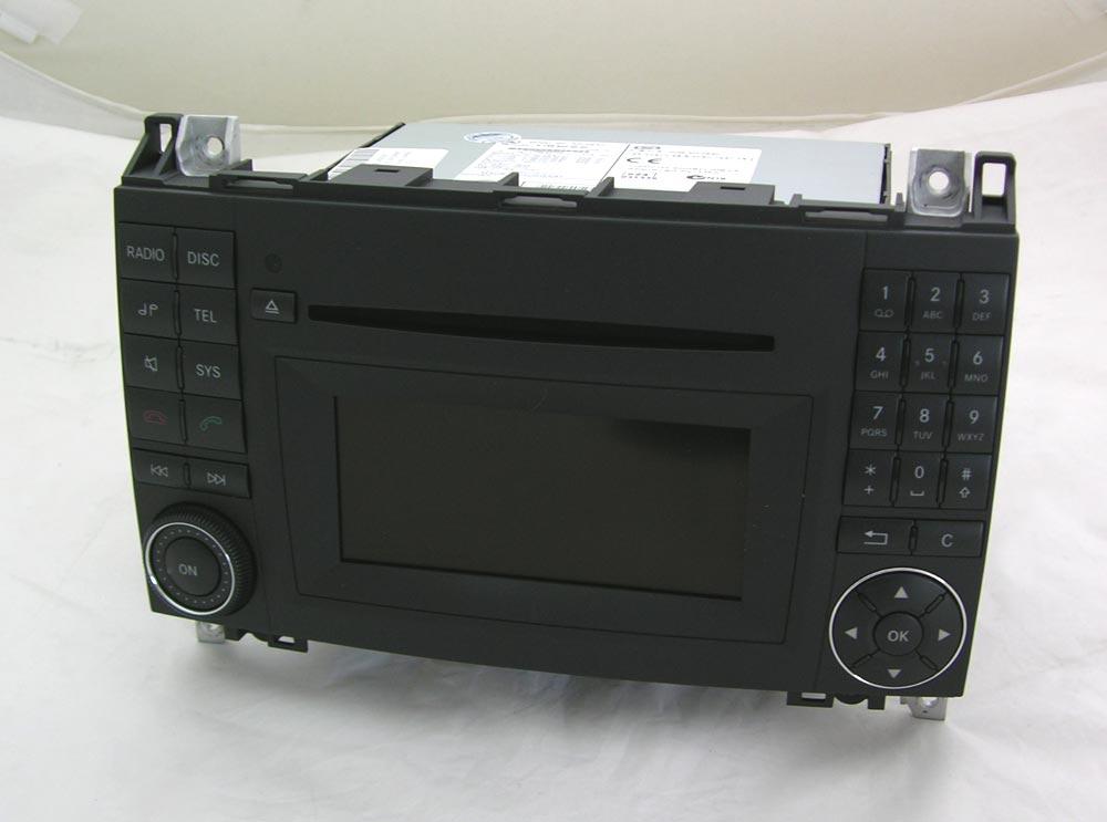 mercedes autoradio audio 20 ntg2 5 a classe w169 w245. Black Bedroom Furniture Sets. Home Design Ideas