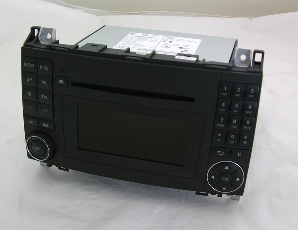 mercedes autoradio audio 20 ntg2 5 a klasse w169 w245 mit. Black Bedroom Furniture Sets. Home Design Ideas