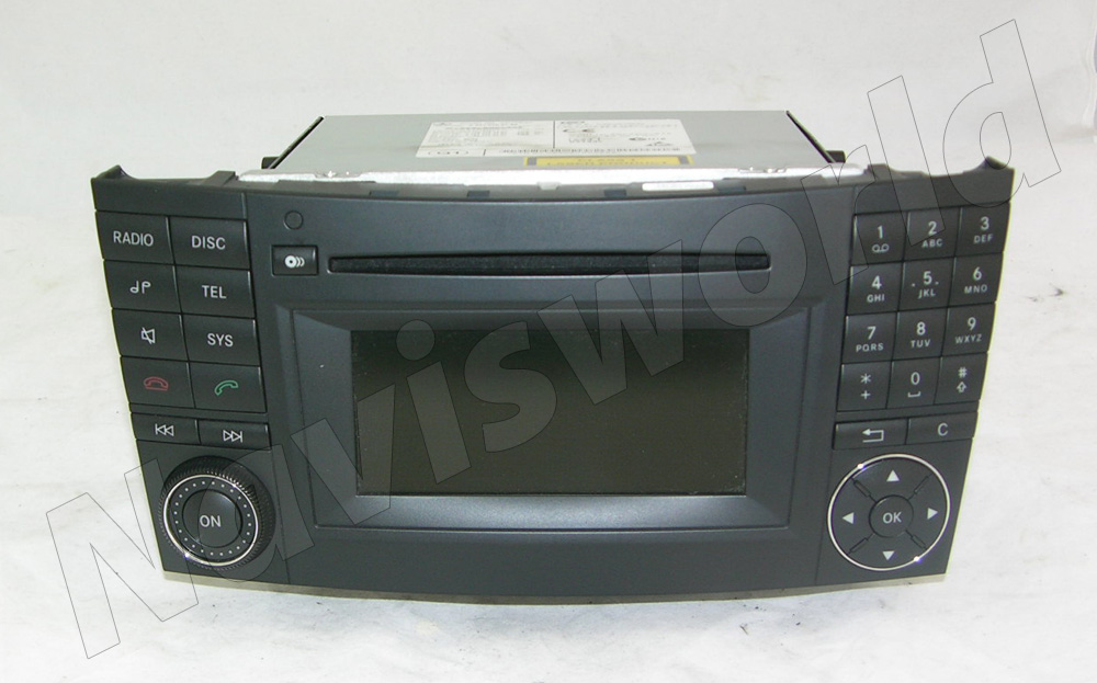 mercedes radio audio 20 ntg 2 5 w211 cls mit wechsler ebay. Black Bedroom Furniture Sets. Home Design Ideas