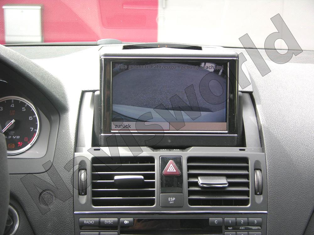 mercedes original r ckfahrkamera set c klasse w204. Black Bedroom Furniture Sets. Home Design Ideas