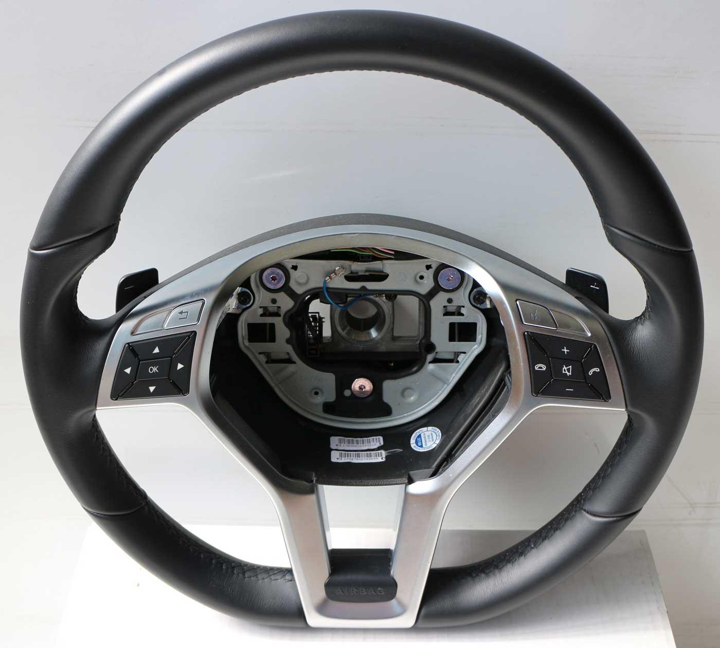 mercedes leder lenkrad amg styling slk r172 a1724600103. Black Bedroom Furniture Sets. Home Design Ideas