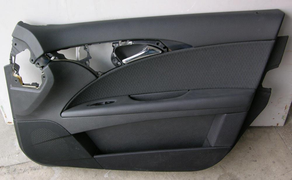 mercedes t rverkleidung t r e klasse w211 s211 beifahrerseite rechts schwarz. Black Bedroom Furniture Sets. Home Design Ideas